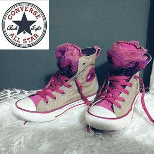 6e76ab1808b8 Converse Tutu Girls High Top Colorful Sneakers